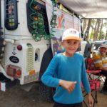 Çocukların doğada kamp sevinci